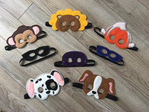 Baby Infant Felt Masks - 805-masks