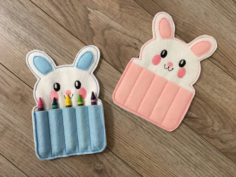 Rabbit Bunny Crayon Holder - 805-masks