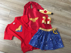 Child Wonder Woman Costume - 805-masks