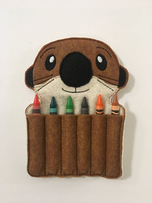 Otter Crayon Holder - 805-masks