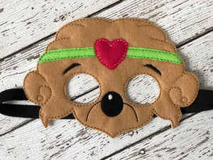 Bear Family Inspired Felt Masks - 805 Masks