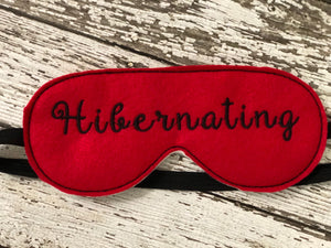 Funny Saying Sleep Mask - 805 Masks