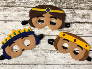 Christmas Nativity Felt Masks - 805 Masks