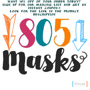 Block People Felt Mask - 805-masks