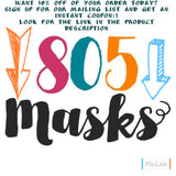 Princess Quiet Coloring Book - 805-masks