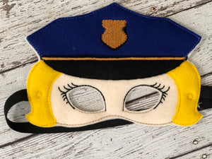 Police Felt Mask - 805-masks