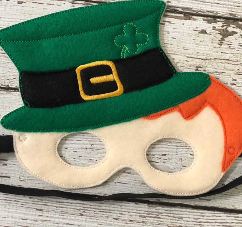 Leprechaun Felt Mask - 805-masks