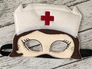 Nurse Felt Mask - 805-masks