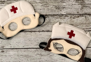 Nurse Felt Mask - 805 Masks