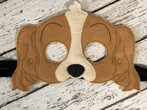 Dog Felt Mask - 805 Masks