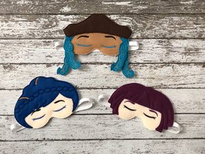 Descendants Inspired Sleep Mask - 805 Masks