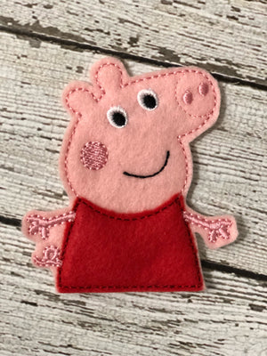 Peppa Pig Inspired Felt Finger Puppets - 805 Masks