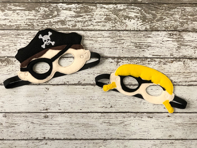 Pirate Felt Masks - 805-masks