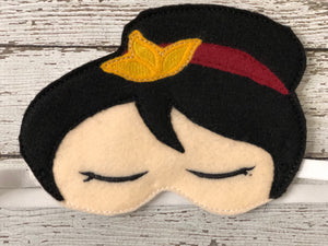 Princess Mulan Sleep Mask - 805 Masks