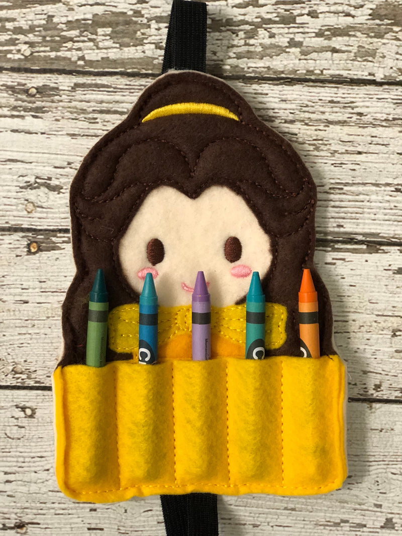 Beauty and the Beast Inspired Crayon Holder - 805 Masks