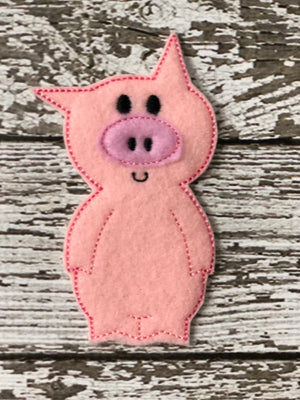 Elephant and Piggie Finger Puppets - 805-masks