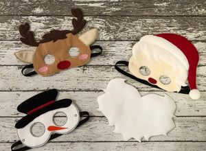 Christmas Felt Masks