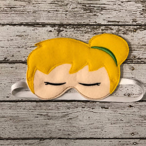 Tinker Bell Sleep Mask - 805 Masks