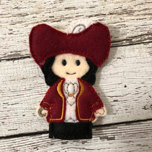 Jake and the Neverland Pirates Inspired Felt Finger Puppets - 805-masks