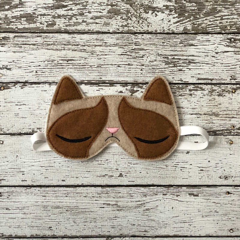 Grumpy Cat Sleep Mask - 805 Masks
