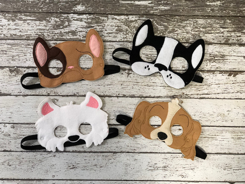 Dog Felt Mask - 805-masks