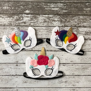 Unicorn Felt Mask - 805-masks