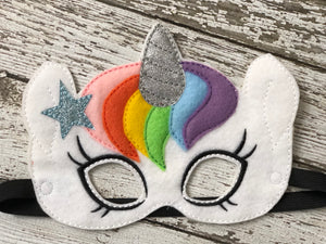 Unicorn Felt Mask - 805 Masks
