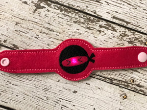 Ninja  Light Up Wristband - 805 Masks