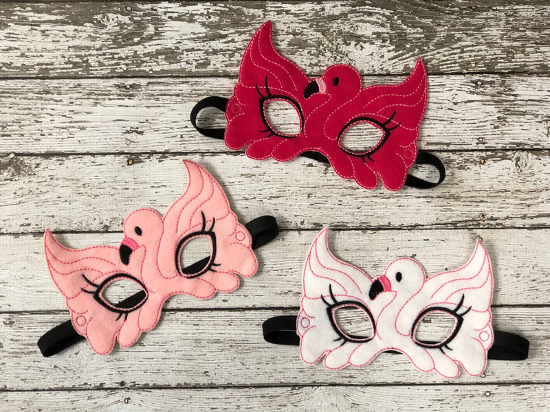 Flamingo Felt Mask - 805 Masks