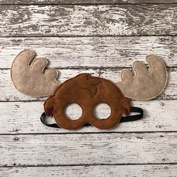 Moose Felt Mask - 805-masks