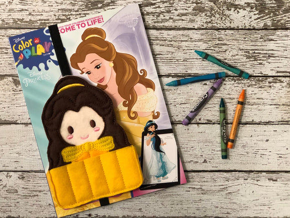 Beauty and the Beast Inspired Crayon Holder