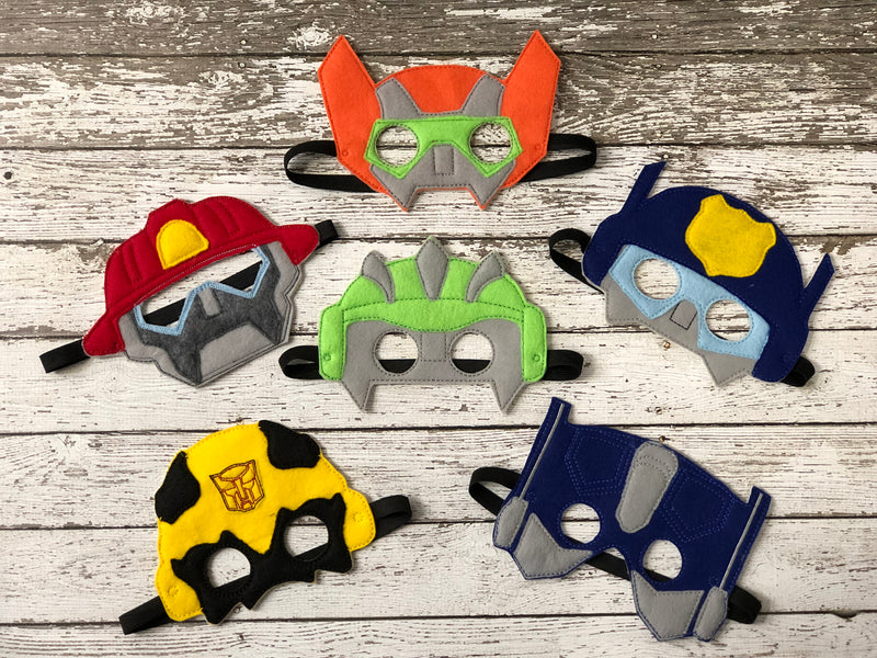 Rescue Bot Inspired Felt Masks - 805-masks