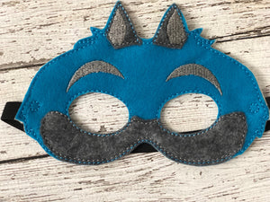 Cheshire Cat Felt Mask - 805-masks