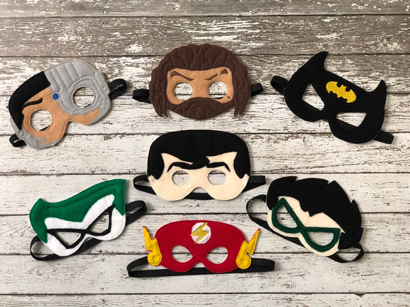 DC Comics Inspired Super Hero Masks - 805-masks