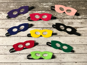 Super Hero Felt Masks
