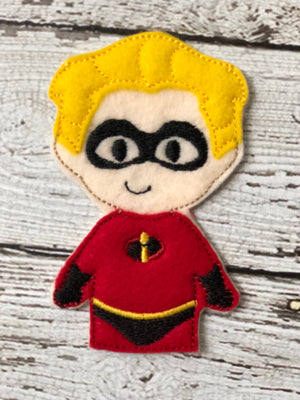 Incredibles Inspired Felt Finger Puppets - 805 Masks