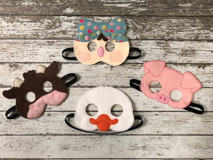 Mrs. Wishy Washy Inspired Felt Masks - 805-masks