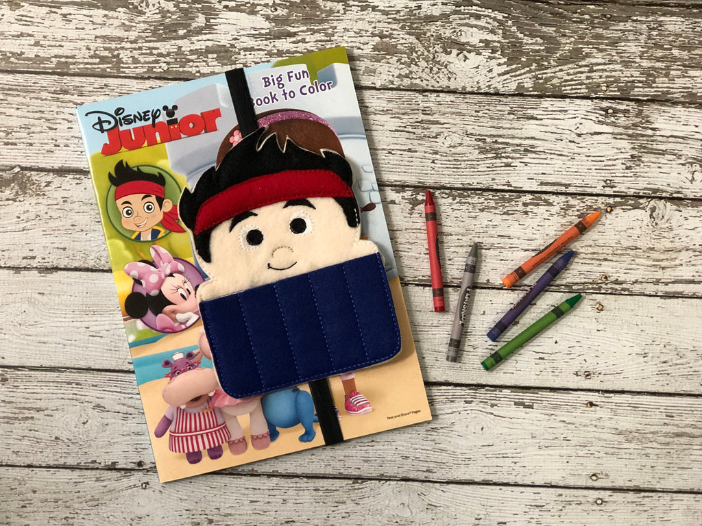 Jake & the Neverland Pirates Inspired Crayon Holder - 805 Masks