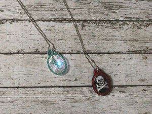 Mermaid and Pirate Light Up Necklaces - 805-masks