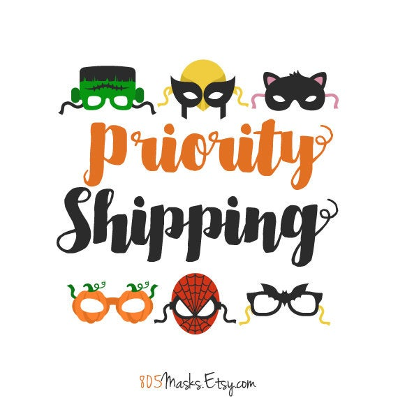 Upgrade to Priority Shipping - 805 Masks