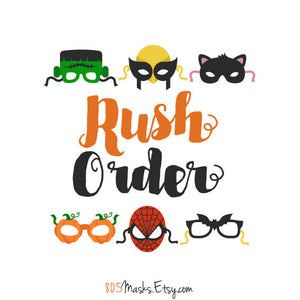 Rush my order! - 805 Masks