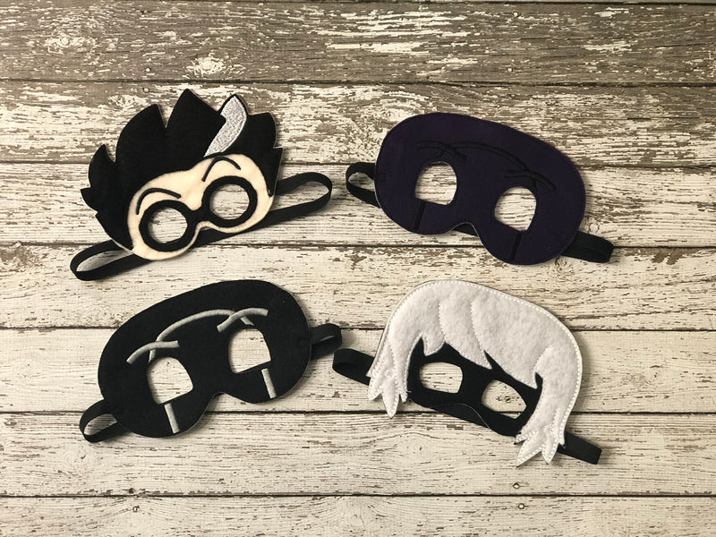 PJ Masks Villian Inspired Felt Masks - 805-masks