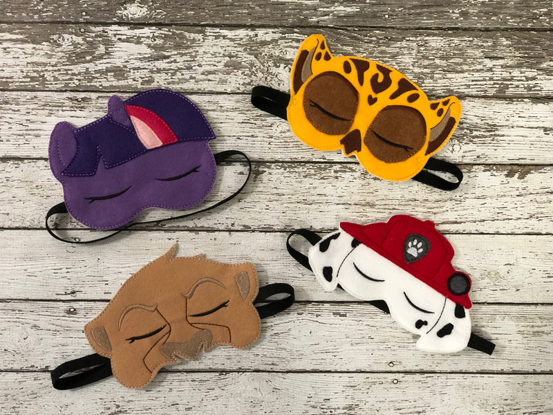 Character Sleep Mask - 805 Masks