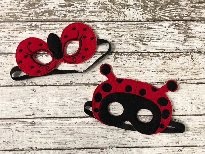 Lady Bug Felt Masks - 805 Masks
