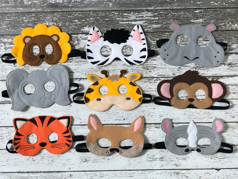 Zoo Animal Masks - 805-masks