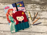 Little Mermaid Inspired Crayon Holder - 805-masks