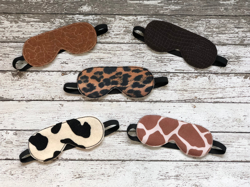 Animal Print Sleep Mask - 805-masks