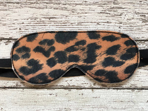 Animal Print Sleep Mask - 805 Masks