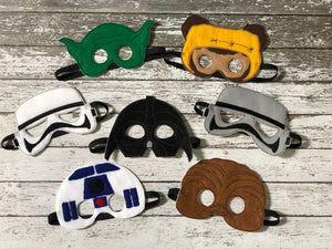 Star Wars Inspired Felt Masks - 805-masks