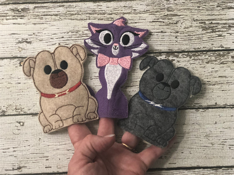 Puppy Dog Pals Inspired Finger Puppets - 805-masks